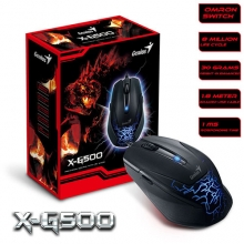 Genius X-G500 Wired Gaming Mouse - USB | ماوس گیمینگ جنیوس