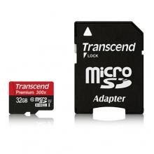 Transcend micro SDXC UHS-I U1 C10 Card - 128GB