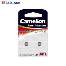Camelion Button Cells - 362|AG11|LR58 2x | باطری ساعت کملیون