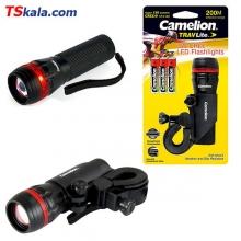 Camelion T556S TRAVLite LED FlashLight | چراغ قوه دوچرخه کملیون