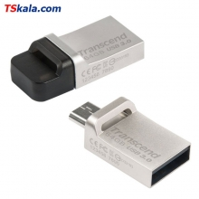 Transcend JetFlash 880S OTG USB3.0 Flash Drive - 64GB