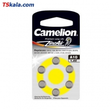Camelion Hearing Aid Battery - Size 10 6x | باطری سمعک کملیون