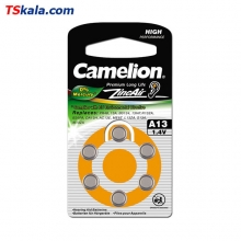 Camelion Hearing Aid Battery Hg0 - Size 13 6x | باطری سمعک کملیون