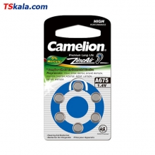 Camelion ZA675 Hearing Aid Battery 6x | باطری سمعک کملیون