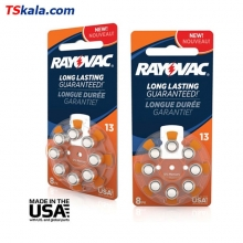 Rayovac Hearing Aid Battery-13|PR48 8x | باطری سمعک