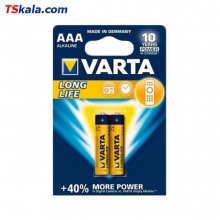 VARTA LR03|AAA LONG LIFE Alkaline Battery 2x | باطری نیم قلم