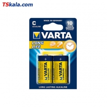 VARTA LR14|C LONG LIFE Alkaline Battery 2x | باطری سایز متوسط