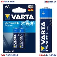 باتری قلمی وارتا VARTA AA LONGLIFE POWER Alkaline Battery 2x
