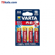 VARTA LR6|AA MAX TECH Alkaline Battery 4x | باطری قلم