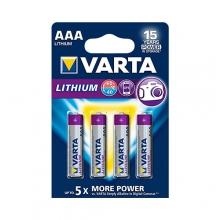 VARTA LITHIUM Battery – AAA|FR03 4x