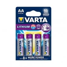 VARTA LITHIUM Battery – AA|FR6 4x