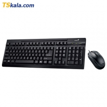 Genius KM-125 Wired Keyboard+Mouse - USB | کیبورد+ماوس جنیوس