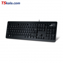 کیبورد جنیوس Genius SlimStar 130 Wired Keyboard