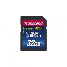 Transcend SDHC UHS-I U1 400X Card – 32GB