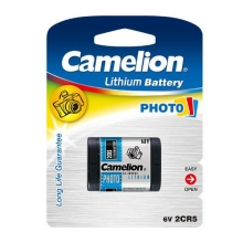 Camelion PHOTO LITHIUM Battery – 2CR5 1x | باطری فوتو لیتیوم