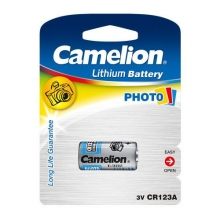 Camelion CR123A PHOTO LITHIUM Battery 1x | باطری فوتو لیتیوم