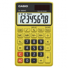 CASIO SL-300NC-BYW Practical Calculator