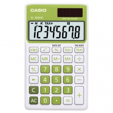 CASIO SL-300NC-GN Practical Calculator
