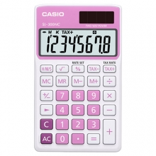 CASIO SL-300NC-PK Practical Calculator