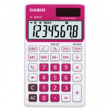 CASIO SL-300NC-RD Practical Calculator
