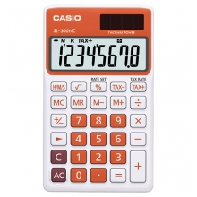 CASIO SL-300NC-RG Practical Calculator