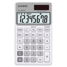 CASIO SL-300NC-WE Practical Calculator