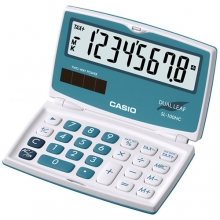 CASIO SL-100NC-BU Practical Calculator