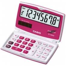 CASIO SL-100NC-RD Practical Calculator
