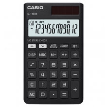 CASIO NJ-120D-BK Check | Practical Calculator | ماشین حساب جیبی کاسیو
