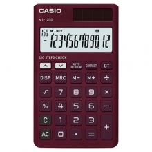 CASIO NJ-120D-RD Check | Practical Calculator | ماشین حساب جیبی کاسیو