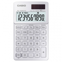 CASIO SL-1000TW-WE Practical Calculator