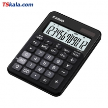 CASIO MS-20NC-BK Calculator | ماشین حساب رومیزی کاسیو