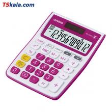 CASIO MJ-12VCb-RD Calculator | ماشین حساب رومیزی کاسیو