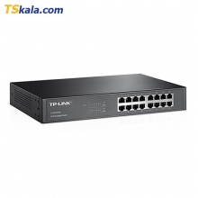 سوییچ شبکه تی پی لینک TP-LINK TL-SG1016D Desktop Gbps Switch – 16 Port