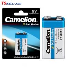 باتری کتابی 9 ولت کملیون Camelion 6LR61 Digi Alkaline 9V 1x