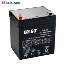 BEST 12V/4.5Ah/20HR Sealed Lead Acid Battery | باطری سیلد لید اسید