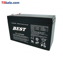 BEST 12V/7.2Ah/20HR Sealed Lead Acid Battery | باطری سیلد لید اسید