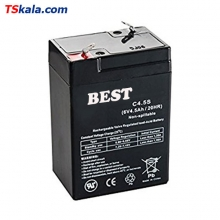 BEST 6V/4.5Ah/20HR Sealed Lead Acid Battery | باطری سیلد لید اسید