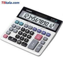CASIO DS-120TV Calculator | ماشین حساب رومیزی کاسیو