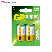 GP Super Alkaline Battery – C|LR14 2x