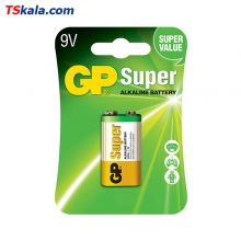 GP Super Alkaline Battery – 9V 1x | باطری 9 ولت جی پی