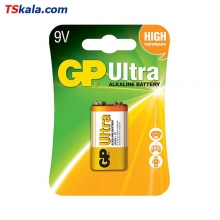 GP Ultra Alkaline Battery – 9V 1x | باطری 9 ولت جی پی