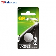 GP CR2032 Lithium Battery 1x | باطری سکه ای جیپی