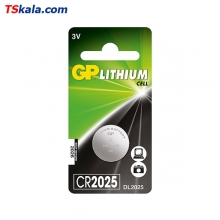 GP Lithium Button Cell – CR2025 1x
