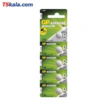 GP A76 Alkaline Battery 5x | باطری ساعت جیپی