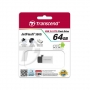 Transcend JetFlash 380S OTG USB2.0 Flash Drive - 32GB