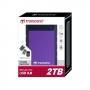Transcend StoreJet 25H3 External Hard Drive - 3TB