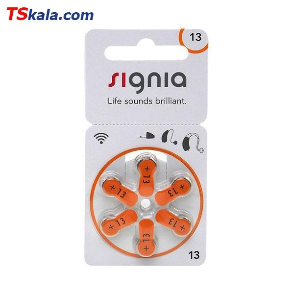 باتری سمعک سیگنیا زیمنس Signia ZA13 Hearing Aid Battery 6x
