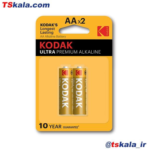 باتری کداک ULTRA PREMIUM ALKALINE سایز قلمی بسته 2 عددی