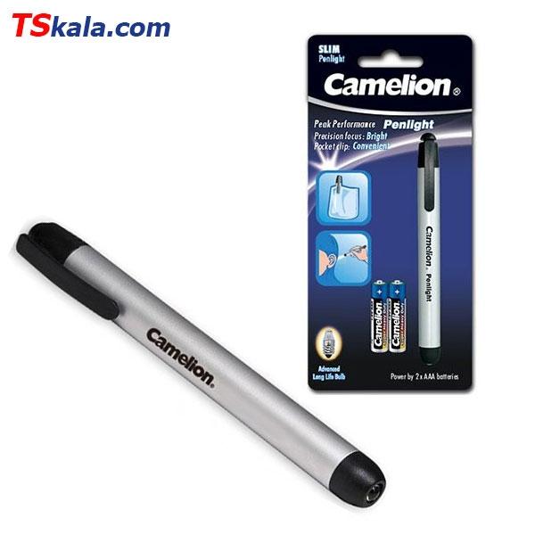 پن لایت پزشکی کملیون Camelion DL2AAAS Aluminium Penlight